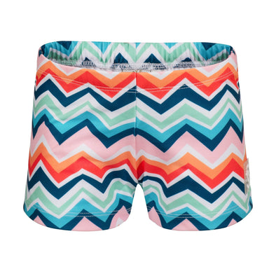 Sandy Feet Australia Swim Shorts Chevron Colour Burst Swim Shorts