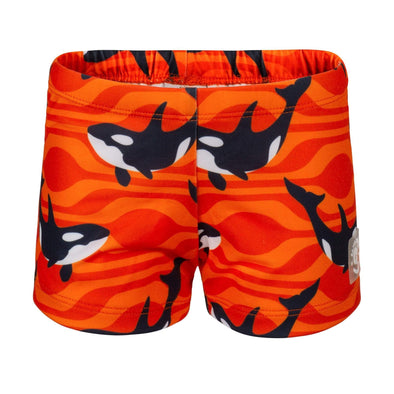 Sandy Feet Australia Swim Shorts Lava Orca Swim Shorts