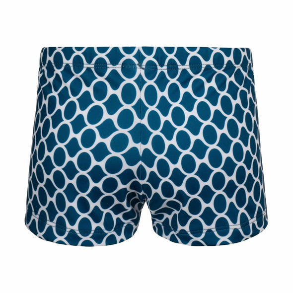 Marine Blue Gemstones Swim Shorts