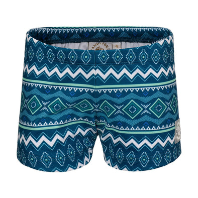 Sandy Feet Australia Swim Shorts Seascape Tribal Swim Shorts