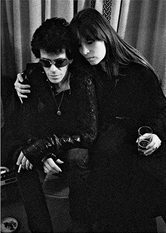 Lou Reed And Nico, Blakes Hotel London 1975, By Mick Rock