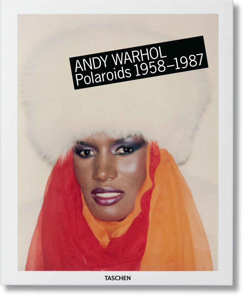 Andy Warhol, polaroids, book, taschen, gift idea, gift shop, los angeles, la maison rebelle, art gallery, home decor,