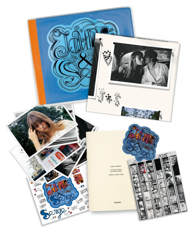 Jane and Serge, book, taschen, La Maison Rebelle, gift shop, art gallery, Los Angeles, fine art, home decor, rock photography, Jane Birkin, Serge Gainsbourg