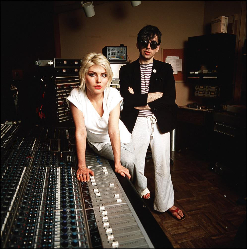 Debbie Harry and Chris Stein, 1979. By Allan Tannenbaum. LA MAISON REBELLE