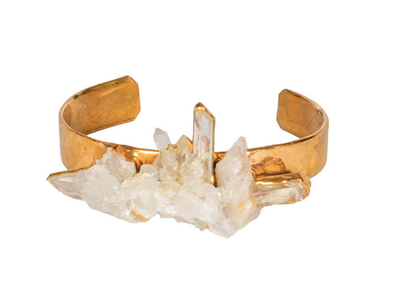 Bobo Jewelry Crystal Quartz Cuff