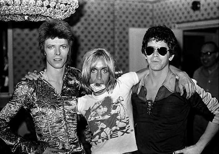 David Bowie, Iggy Pop, Lou Reed, Dorchester Hotel, London, 1972, Mick Rock, photography, home decor, art gallery, bowie, fine art, gift shop, Los Angeles, La Maison Rebelle, fine art photography, gallery