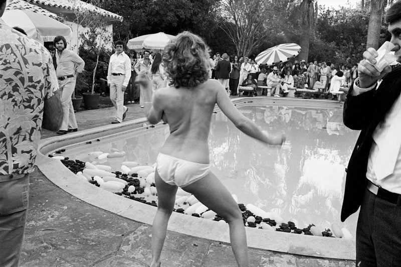 Beverly Hills, Swim Party, 1977, Brad Elterman, limited edition, signed, art gallery, fine art, photography, home decor, decor, wall decor, art, La Maison Rebelle, gift shop, Los Angeles