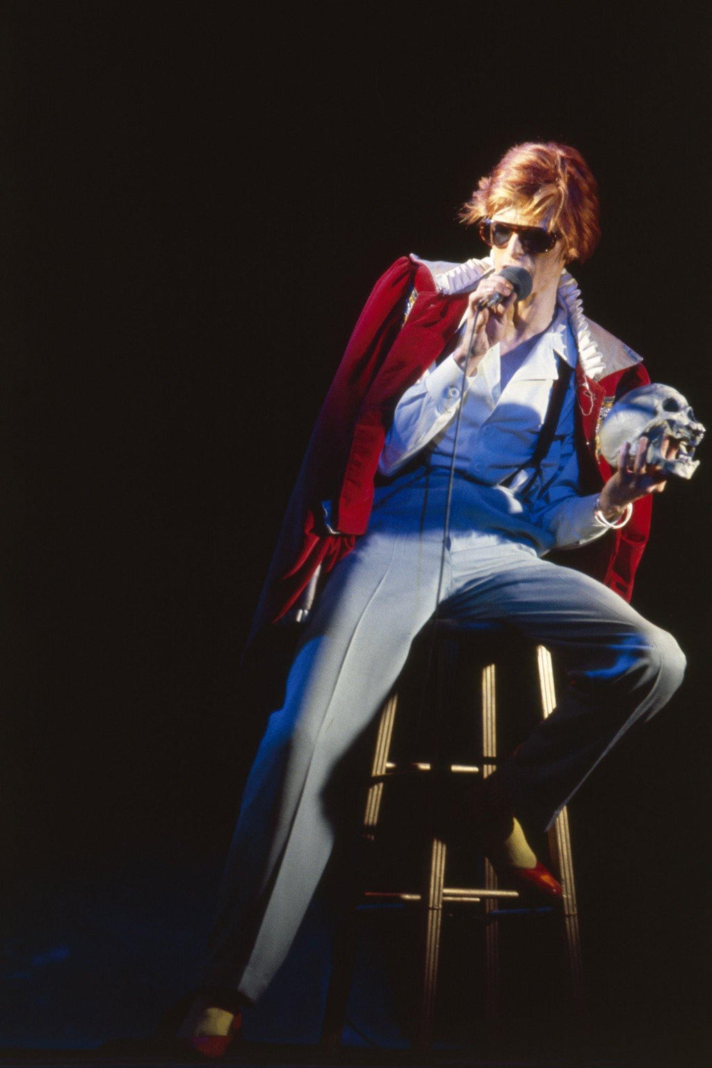 David Bowie, By Terry O'Neill.  LA MAISON REBELLE