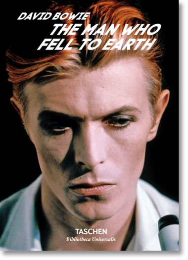 David Bowie, The Man Who Fell to Earth, Taschen, book, gift shop, gifts, photography, fashion, art, at gallery, La Maison Rebelle, Los Angeles, bowie
