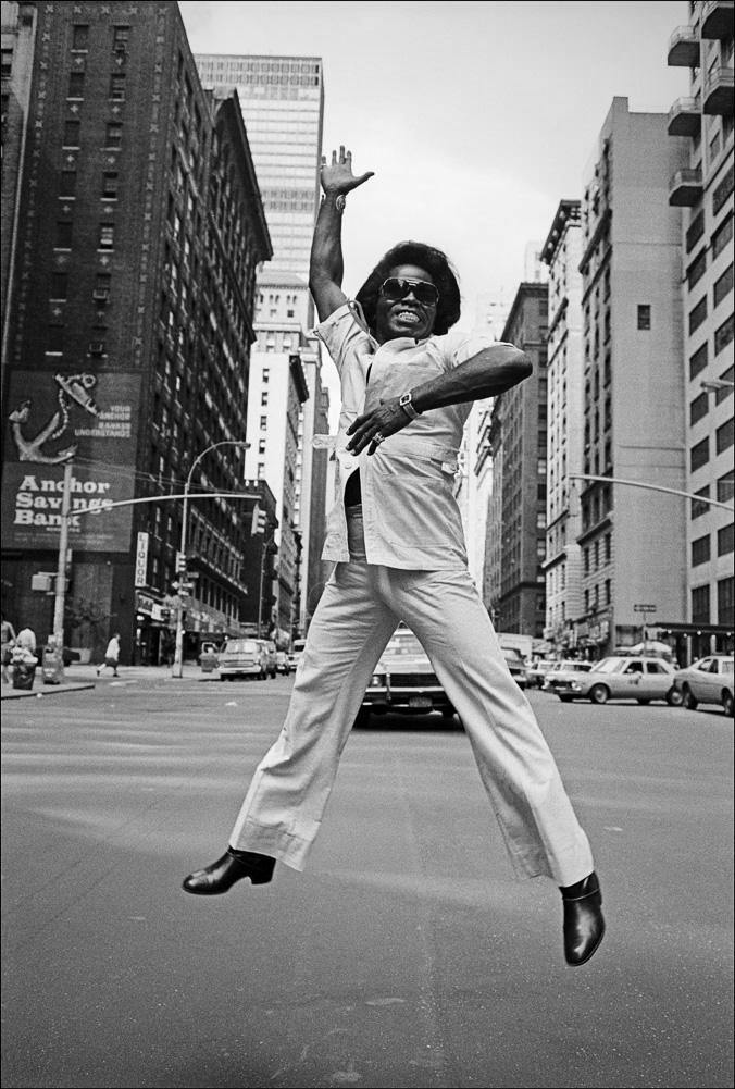 James Brown, new york city, broadway, jump, new york, Allan Tannenbaum, limited edition, signed, Fine art, photography, home decor, decor, wall decor, La Maison Rebelle, gift shop, Los Angeles.