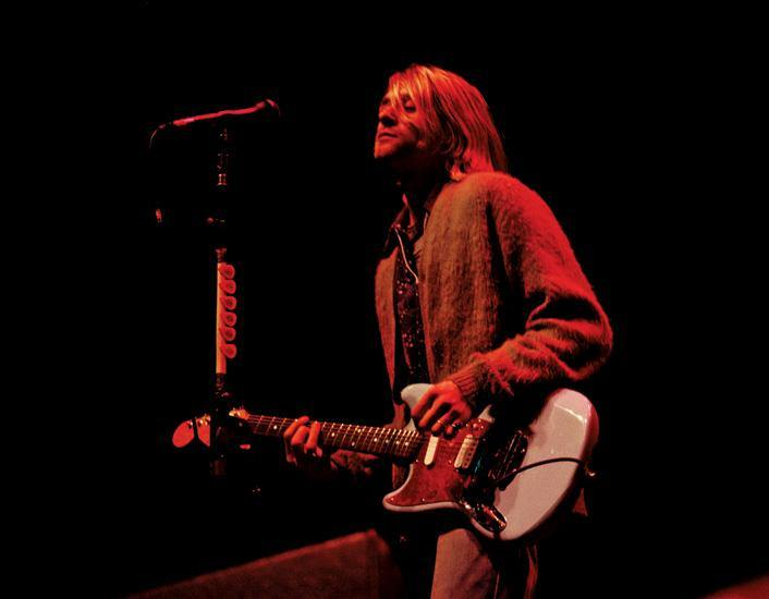 Kurt Cobain of Nirvana, 1993. By Jimmy Steinfeldt