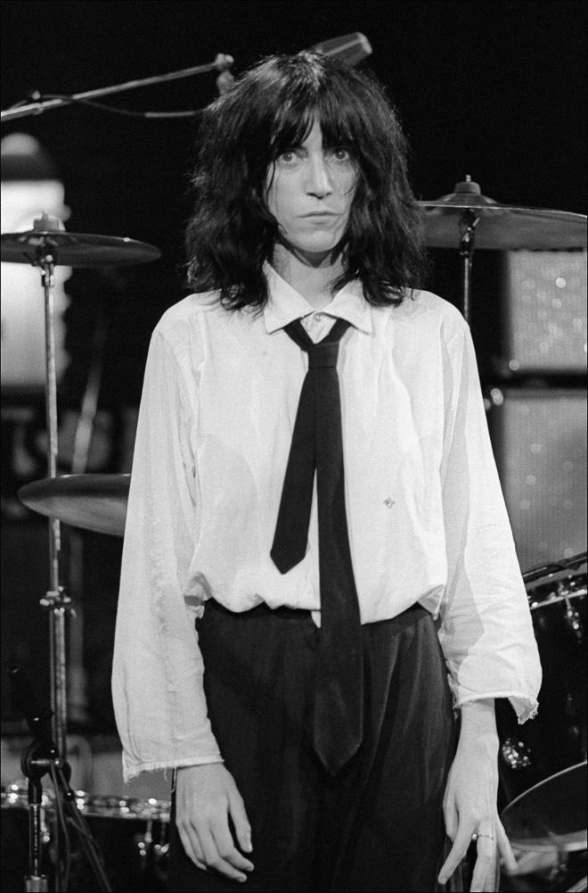 Patti Smith, Saturday Night Live, 1976, SNL, Allan Tannenbaum, Fine art, photography, home decor, wall decor, interior design, La Maison Rebelle, gift shop, Los Angeles, fine art photography, signed, limited edition, art gallery, gallery, new york city