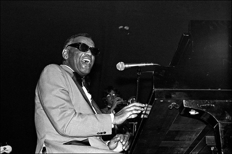 Ray Charles, The Ritz, 1980, Allan Tannenbaum, Fine art, photography, home decor, wall decor, interior design, La Maison Rebelle, gift shop, Los Angeles, fine art photography, signed, limited edition, art gallery, gallery, new york city