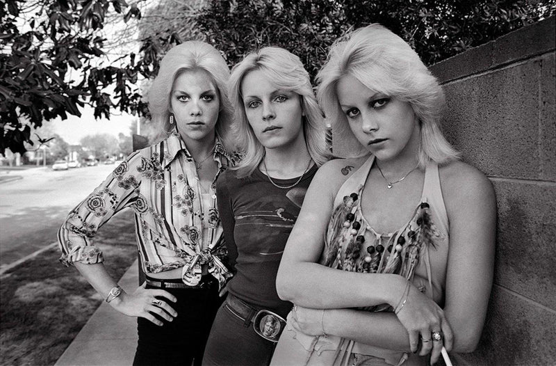 Valley Chics, 1977. By Brad Elterman. The Runaways. La Maison Rebelle
