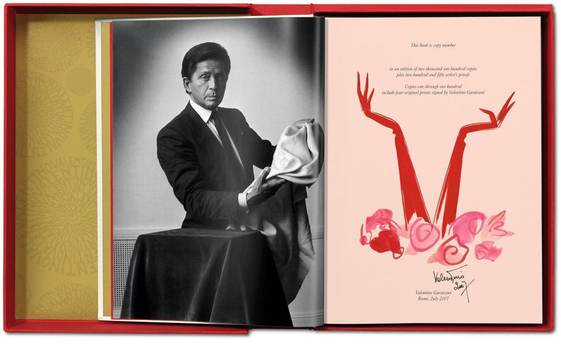 Valentino, collectors edition, signed, numbered, taschen, book, fashion, design, art, Paris, Los Angeles, New York, Luxury, La Maison Rebelle, art gallery, gift shop, gifts