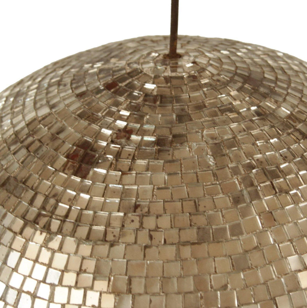 German, Disco Ball. Vintage, gold, silver. La Maison Rebelle. gift shop, Los Angeles.