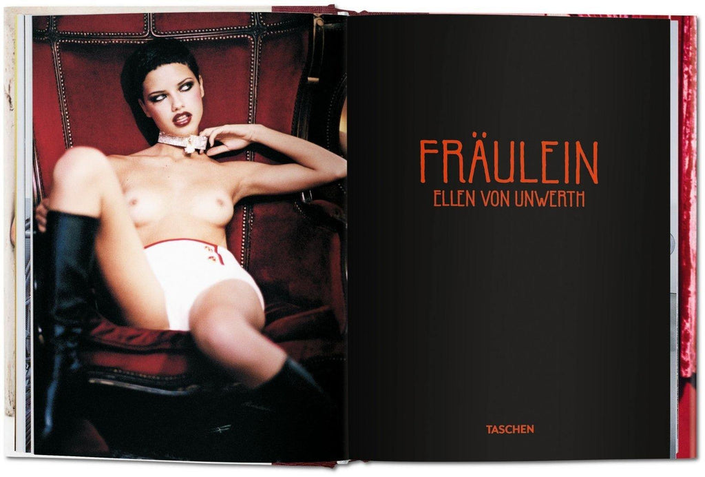 Ellen von Unwerth, Fräulein, photography, Taschen, pinup. pinup girl, book, gift shop, gifts, fashion, art, at gallery, La Maison Rebelle, Los Angeles