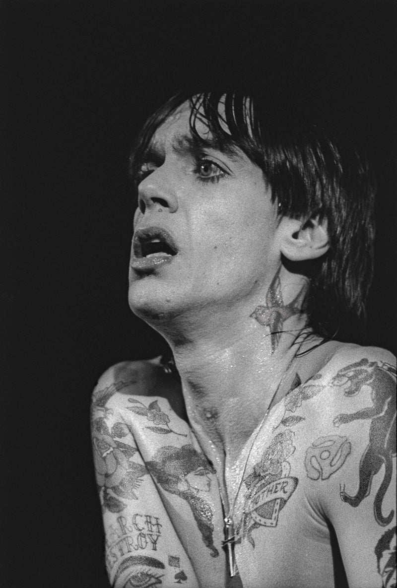 Artsy, Cheyenne Randall, Indiangiver,  Iggy Pop, 1977, Allan Tannenbaum, Fine art, photography, home decor, wall decor, interior design, La Maison Rebelle, gift shop, Los Angeles, fine art photography, signed, limited edition, art gallery, gallery