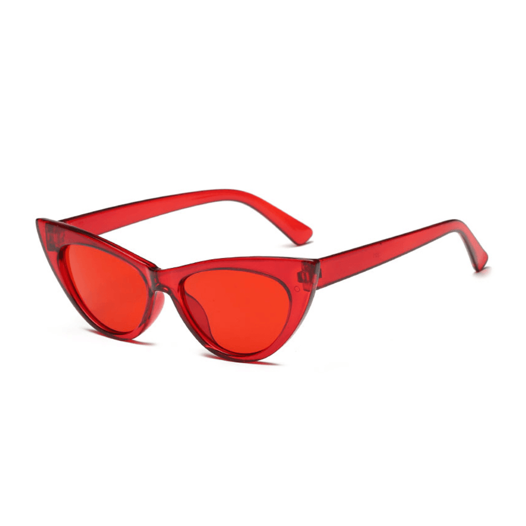 Red, Cat Eye, color therapy, sunglasses, gift, gift shop, gallery, art gallery, los angeles, La Maison Rebelle, summer, celebrity, fashion, glasses, acrylic, accessories, hollywood