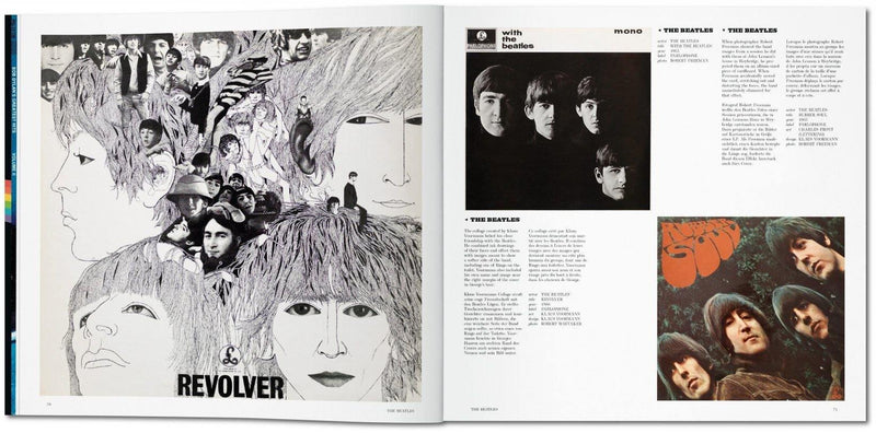 Rock Covers, Taschen, book, rock n roll, fine art, photography, rock n roll photography, La Maison Rebelle, art gallery, gifts, gift shop, Los Angeles, The Rolling Stones, David Bowie, The Beatles