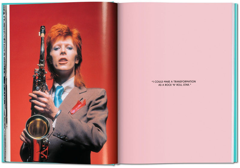 The Rise of David Bowie, Mick Rock, Book, Taschen, Signed, La Maison Rebelle, art gallery, gift shop, gifts, Los Angeles, Bowie