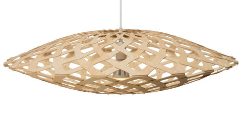 Flax light by David Trubridge in Natural
