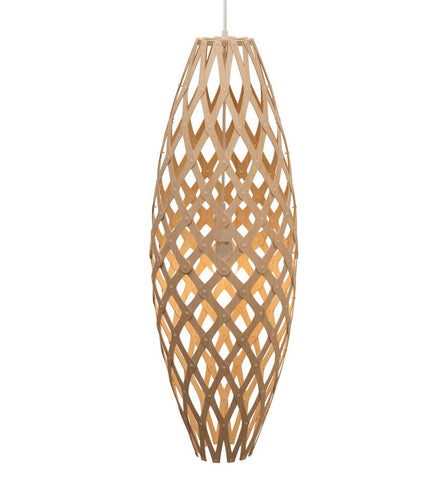 Hinaki light by David Trubridge in Natural