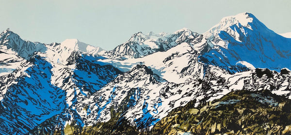 Mt Tasman and Fox Glacier Limited Edition