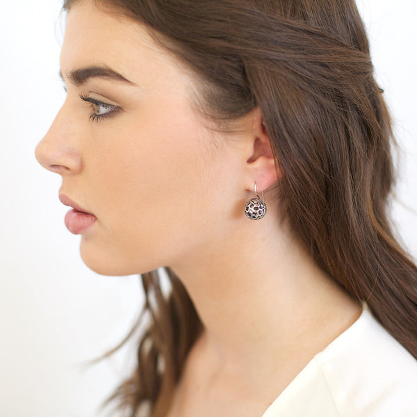 Small Lace Pod Earrings