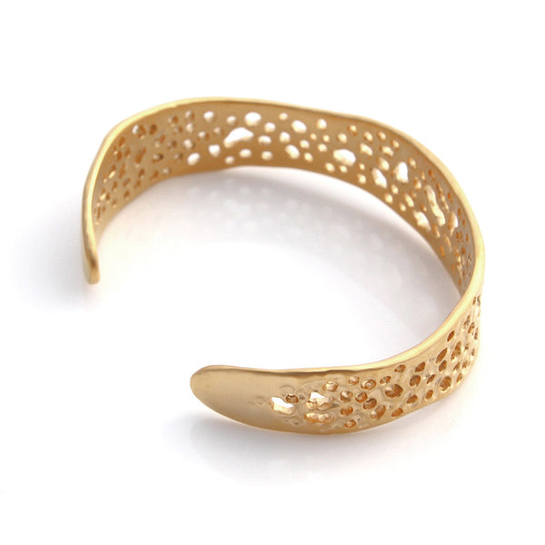 Gold Medium Lace Cuff
