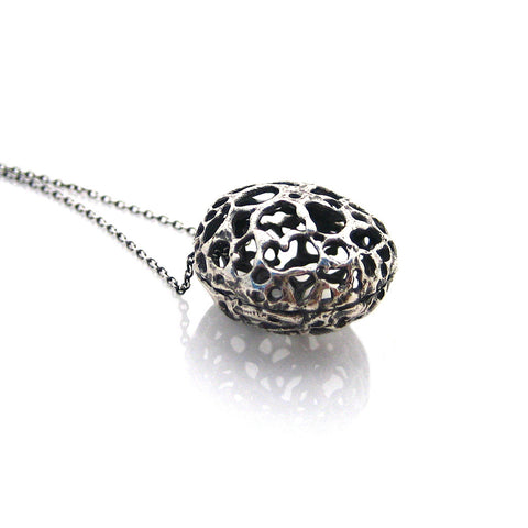 Lace Pod Necklace