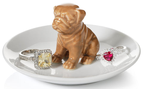Pug Dog Ring Holder