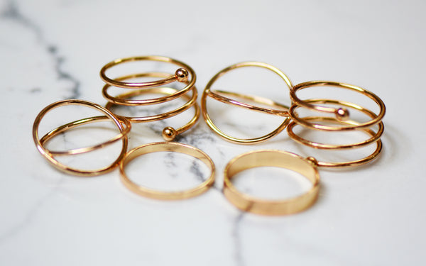 Densi Six Ring Stack