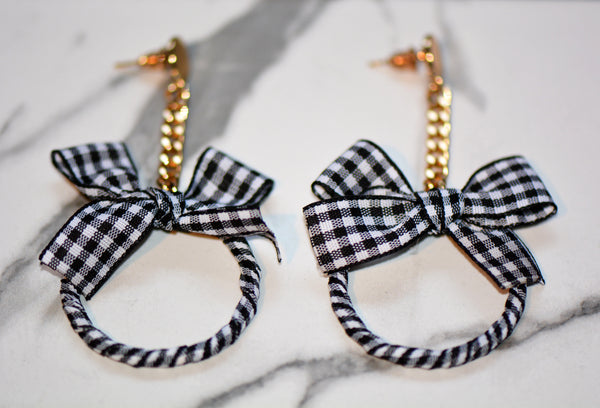 Skylar Plaid Earrings