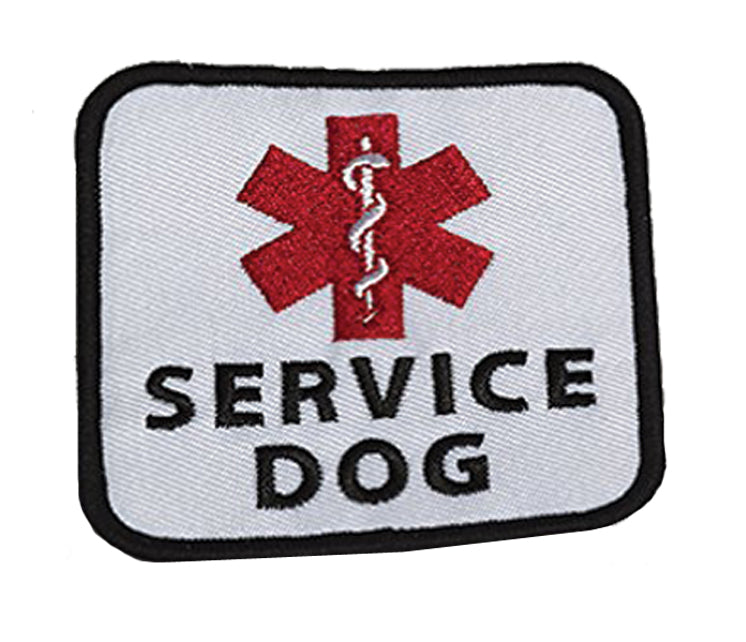 "Service Dog Patch - 3"" x 3"""