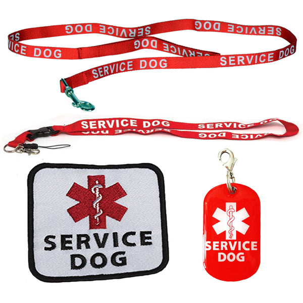 Service Dog Leash with Free Kit - Receive 3 Service Dog Bonuses - Small Dog