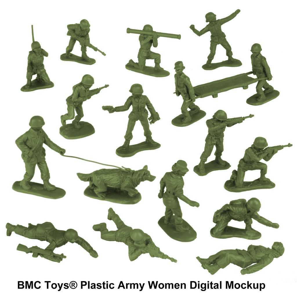 BMC Toys: Plastic Army Women Project: Update #9