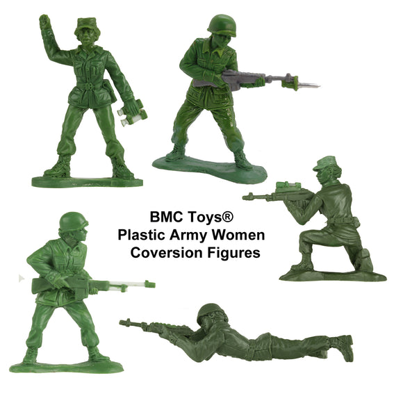 BMC Toys: Plastic Army Women Project: Update #10