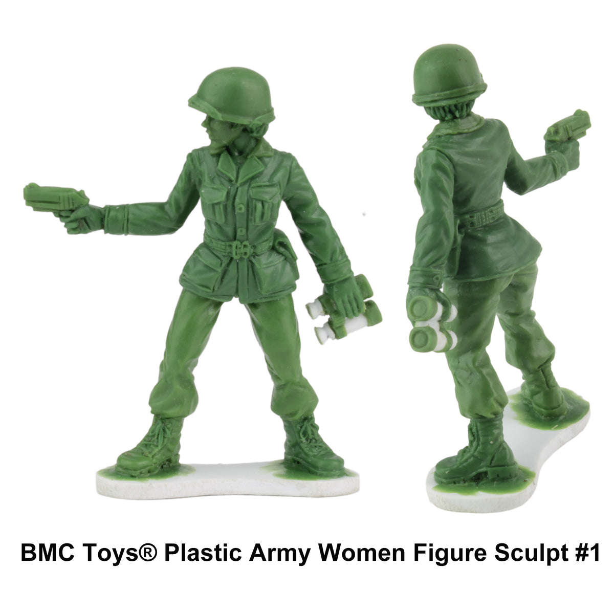 BMC Toys: Plastic Army Women Project: Update #3 – BMC Toy