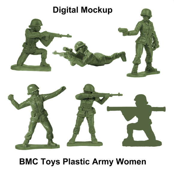 BMC Toys: Plastic Army Women Project: Update #5