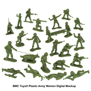 BMC Toys: Plastic Army Women Project: Update #11