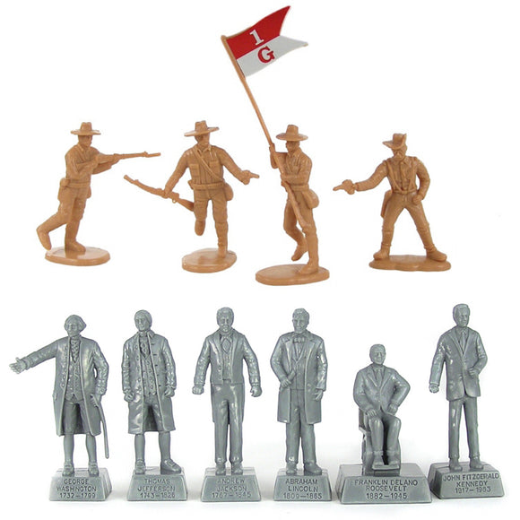 BMC Toys Rough Rider Presidents of the United States Figures