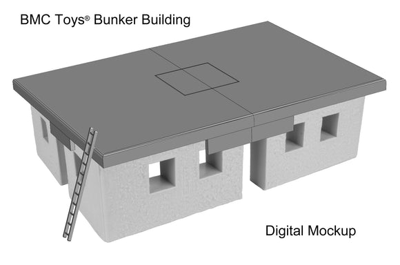 BMC Toys: WW2 Bunker Building Project Update
