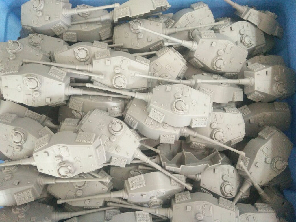 BMC Toys German King Tiger Tank Turrets