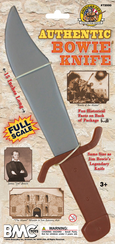 BMC Toys Bowie Knife New Package Mockup