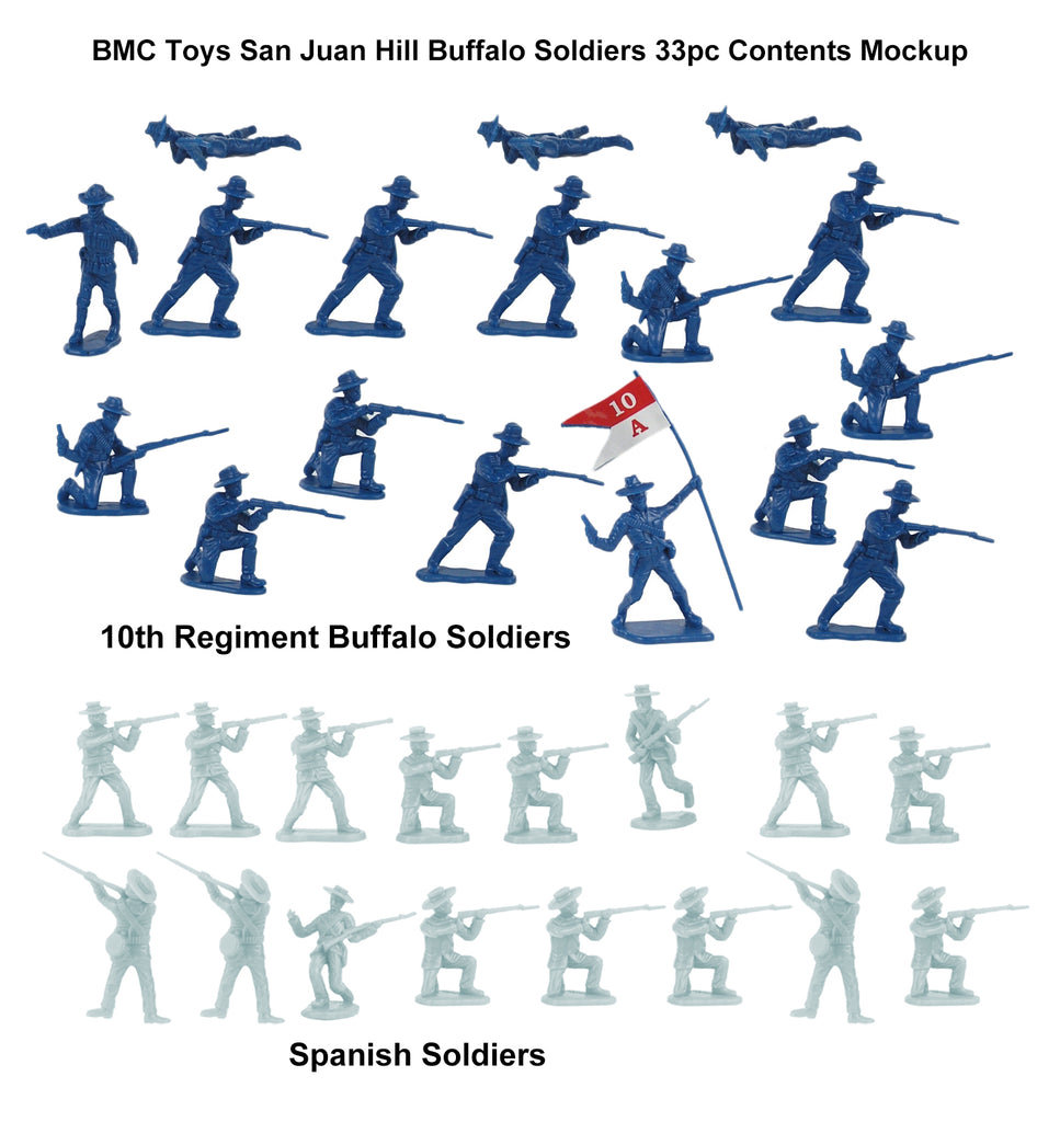 BMC Toys Buffalo Soldiers Contents Mockup