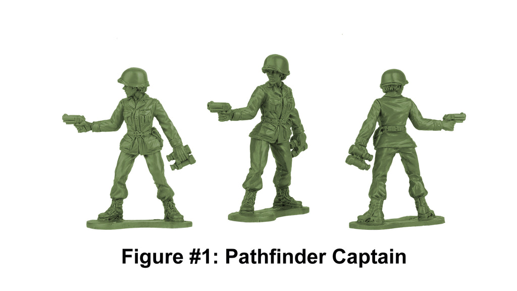 BMC Toys Plastic Army Women Captain Prototype