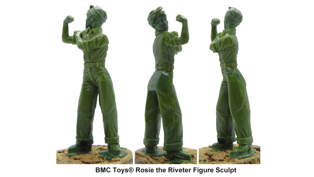 BMC Toys® Rosie the Riveter Figure Sculpt