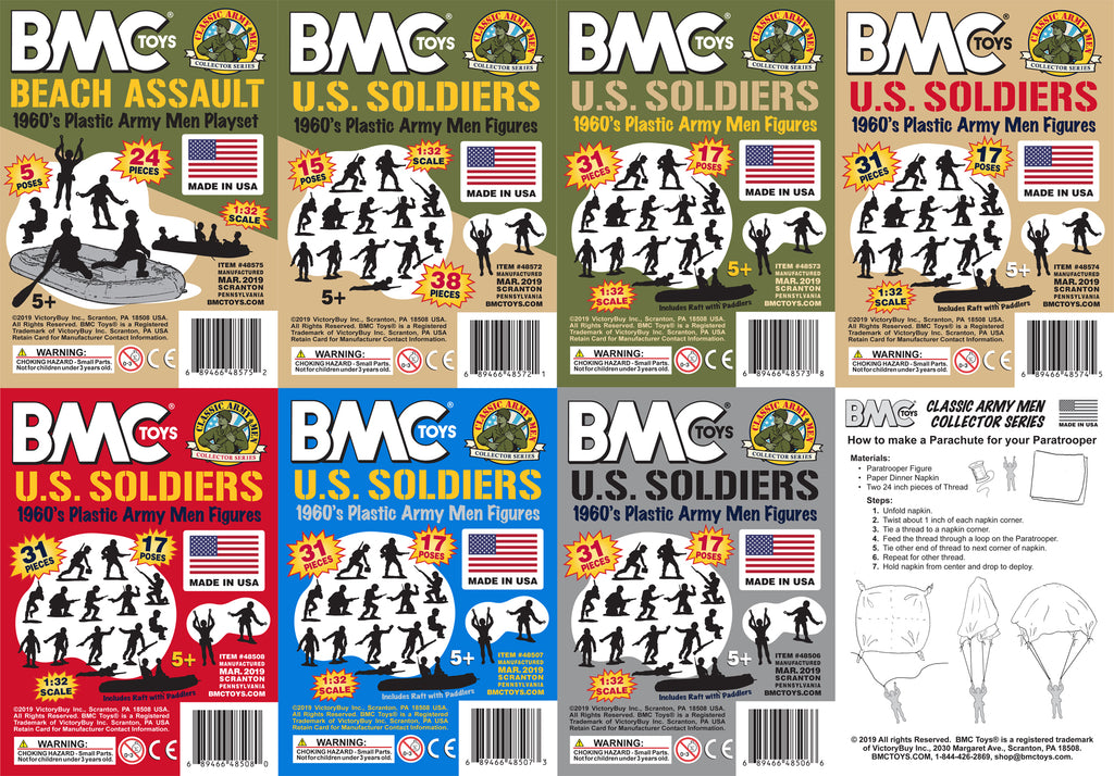 BMC Toys Classic Marx US Soldiers