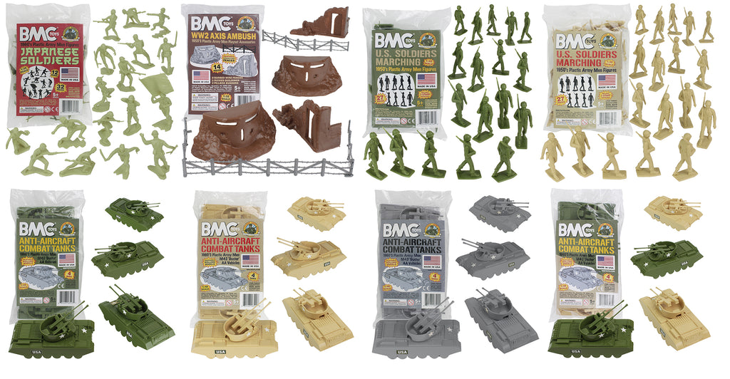 BMC Toys Classic Army Men Fall 2019